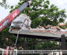 Chuyển máy sản xuất cửa nhôm tại ngoại thành Hà nội 5