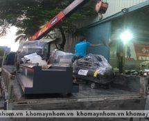 Chuyển máy sản xuất cửa nhôm Phú Thọ 1