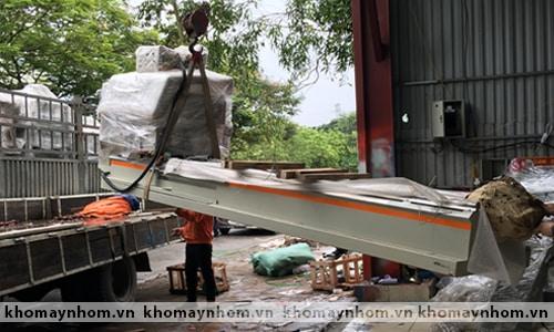 Chuyển máy sản xuất cửa nhôm tại ngoại thành Hà nội 3