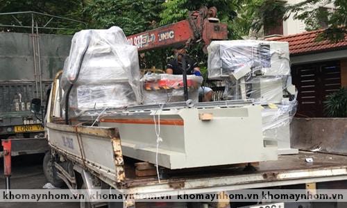 Chuyển máy sản xuất cửa nhôm tại ngoại thành Hà nội 4