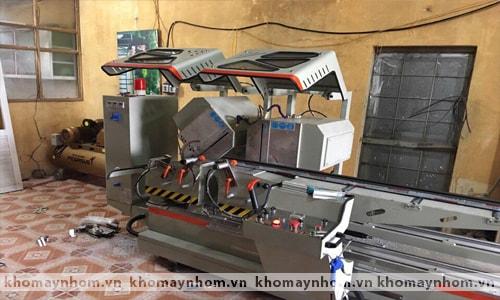 Chuyển máy sản xuất cửa nhôm Quảng Bình 2