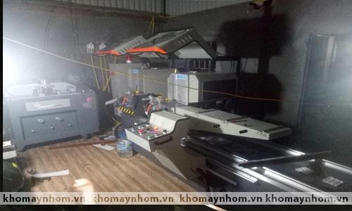 Chuyển máy sản xuất cửa nhôm Bắc Giang 2