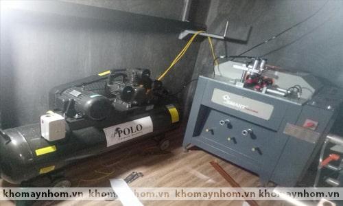 Chuyển máy sản xuất cửa nhôm Bắc Giang 3
