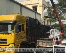 chuyển máy sản xuất cửa nhôm tp huế