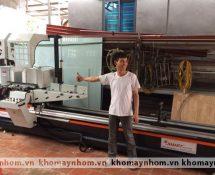 bàn giao máy sản xuất cửa hải phòng bắc giang