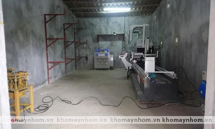 bàn giao máy sản xuất cửa tại thái nguyên hà nội