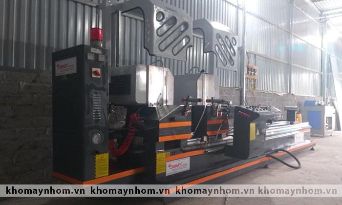 bàn giao máy sản xuất cửa nhôm lạng giang bắc giang