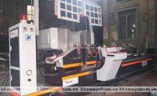 bàn giao máy sản xuất cửa nhôm từ sơn bắc ninh