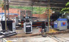 bàn giao máy sản xuất cửa nhôm bình định