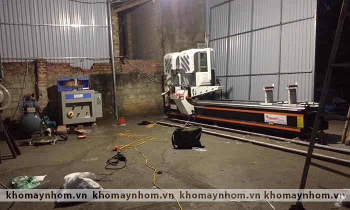 bàn giao máy sản xuất cửa việt trì phú thọ