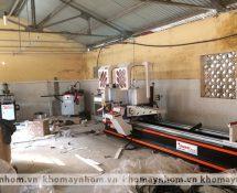 máy sản xuất cửa nhôm sơn tây hà nội