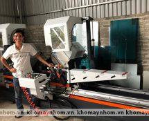 máy sản xuất cửa nhôm hà nội hải dương