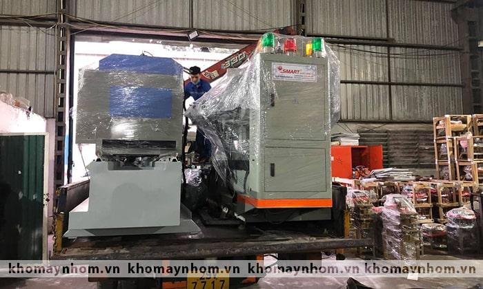 máy sản xuất cửa nhôm 03 2021