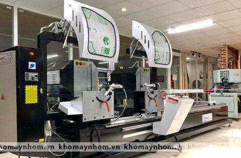 máy cắt nhôm 2 đầu 09s hoaxin