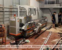 máy sản xuất cửa nhôm hồng hà đan phượng hà nội